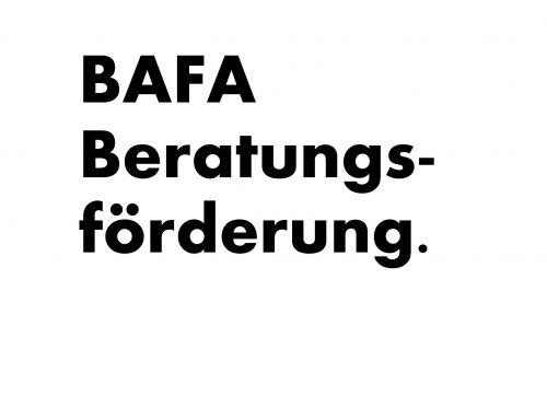 BAFA – Förderung von Unternehmensberatungen
