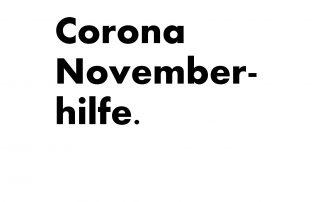 Corona Novemberhilfe