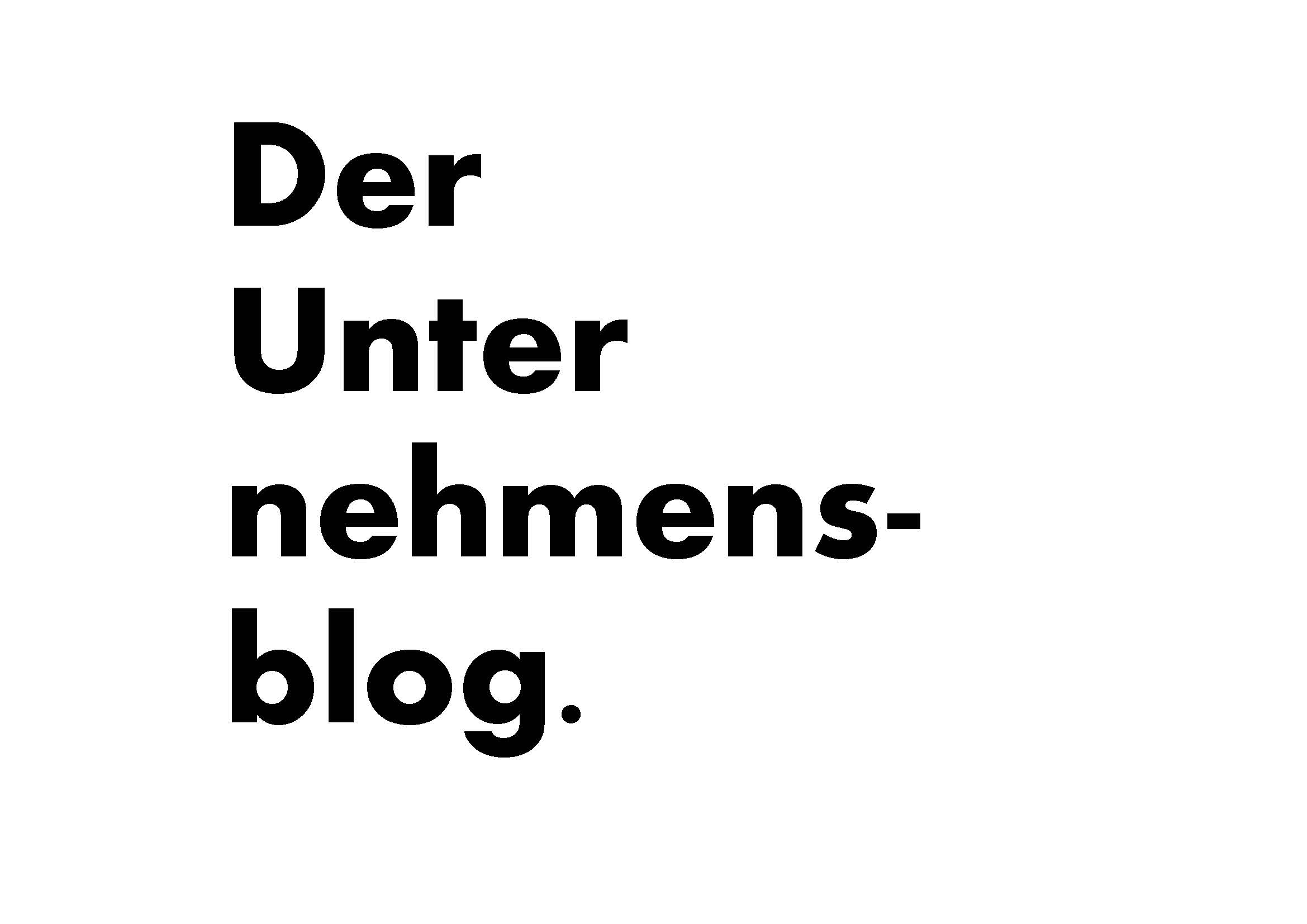 Unternehmerblog
