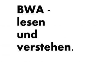 BWA - lesen und verstehen